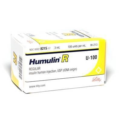remaining humulin-r amount