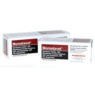 Mometavet Generic Otic Suspension for Dogs