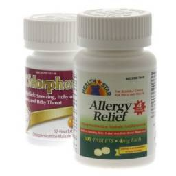 Chlorpheniramine is a generic antihistamine used for the control of allergies in dogs and cats