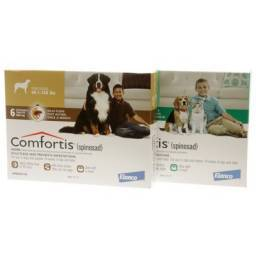 Comfortis (spinosad) Chewable Tablets for Dogs and Cats