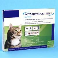 EctoAdvance Plus for Cats Kills Fleas and Ticks