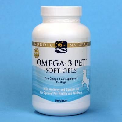 Nordic Naturals Omega  Pet Soft Gels Dog Supplement