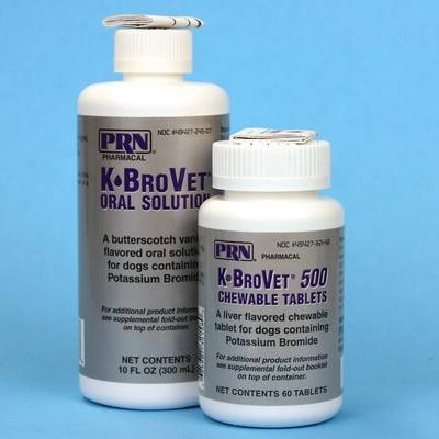 K Brovet For Dogs Potassium Bromide For Dogs Vetrxdirect