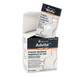 Advita Probiotic - Powder for Cats, Box of 30 Packets