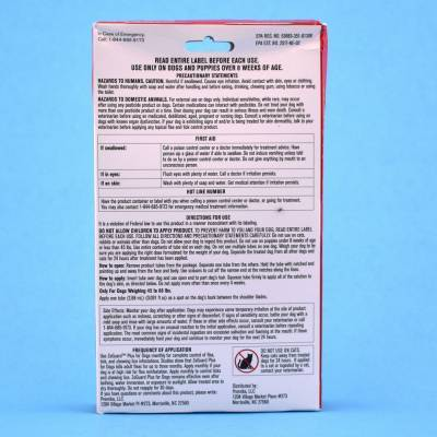 ZoGuard Plus for Dogs - 45-88lbs Directions for Use