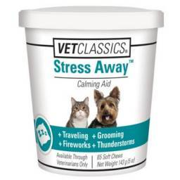 Stress Away for Dogs and Cats - 65 SOFT Chews