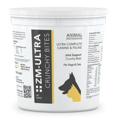 ZM Ultra for Dogs and Cats - Crunchy Bites, 480g