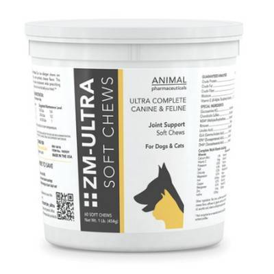 ZM Ultra for Dogs and Cats - 60 Soft Chews, 1lb