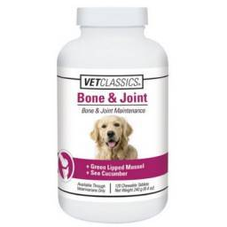 Vet Classics Bone & Joint Chewable Tablets for Dogs