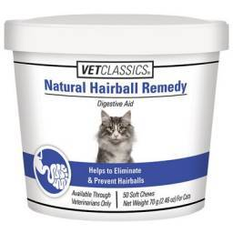 Natural Hairball Remedy with Catnip for Cats