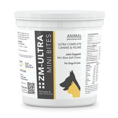 ZM Ultra - Mini Bites for Dogs and Cats, 1lb (Approx 100 Soft Chews)