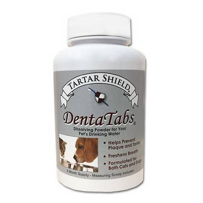 Tartar Shield - DentaTabs for Dogs and Cats, 3 Month Supply