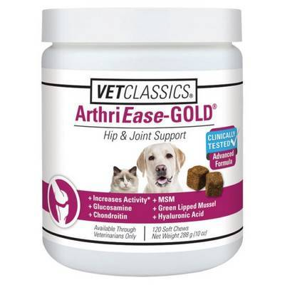 ArthriEase-GOLD - 120 SOFT Chews for Dogs and Cats