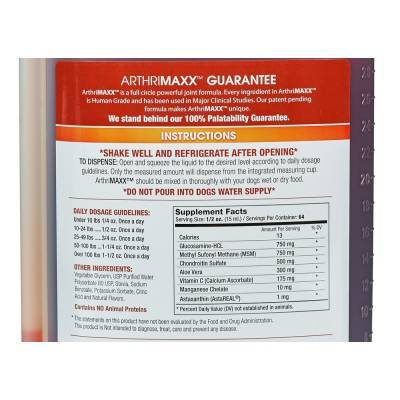 Arthrimaxx For Dogs And Cats Powerful Joint Formula