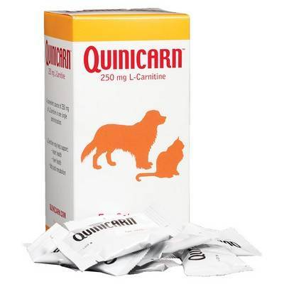 Quinicarn for Dogs and Cats (L-Carnitine) Ingredients