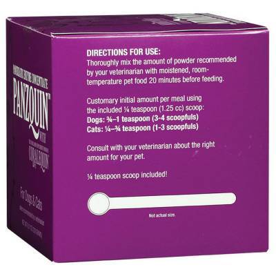 Panzquin for Dogs and Cats Pancreatic Enzyme Concentrate Directions for Use