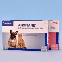 Anxitane (L-Theanine) Chewable Tablets for Dogs and Cats