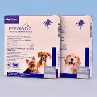 Preventic (amitraz) Tick Collar for Dogs