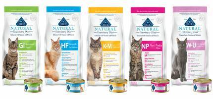 Blue Buffalo Natural Veterinary Diet® for Cats