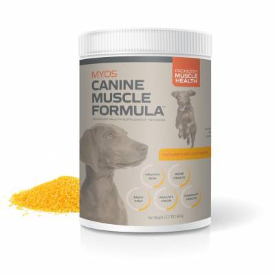 MYOS Canine Muscle Formula Fortetropin for Dogs