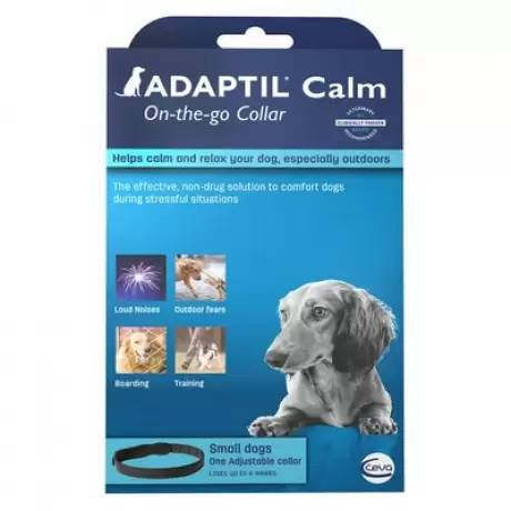 Adaptil On-the-Go Collar - Small Dog, Fits Necks up to 14.7 Inches
