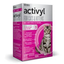 Activyl for Cats - 2-9lbs, 6 Month Supply
