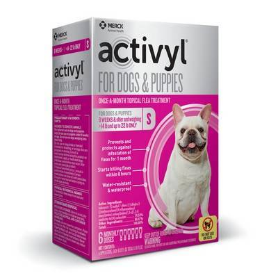 Activyl for Dogs - Over 14 - 22 lbs, 6 Month Supply