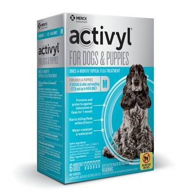 Activyl for Dogs - Over 22 - 44 lbs, 6 Month Supply