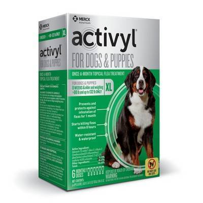 Activyl for Dogs - Over 88 - 132 lbs, 6 Month Supply