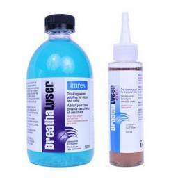BreathaLyser Plus Drinking Water Additive for Dogs and Cats
