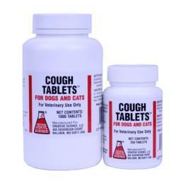 Cough Tablets for Dogs and Cats