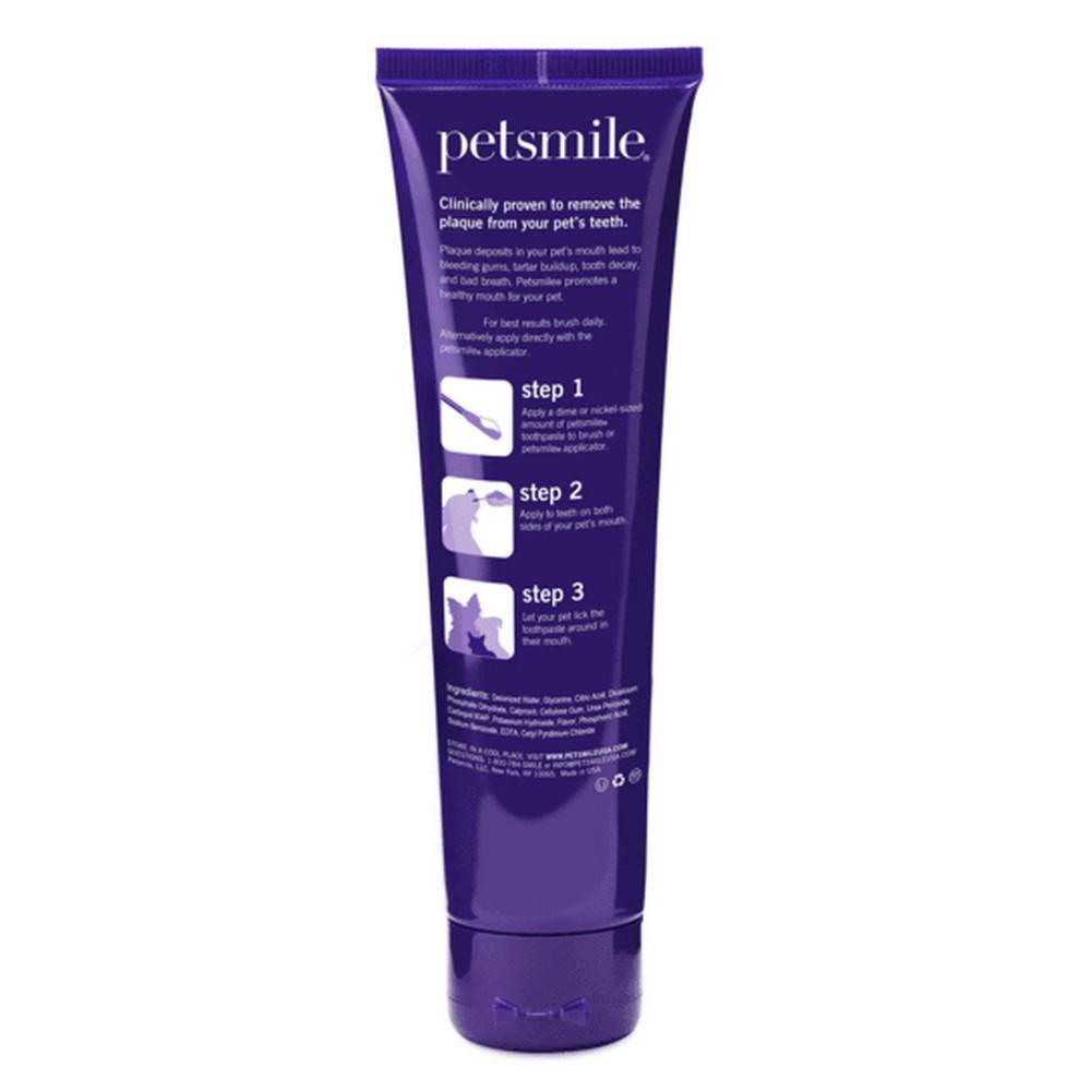 Petsmile Toothpaste For Dogs And Cats Vohc Approved