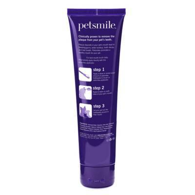 Petsmile Professional Pet Toothpaste - Natural London Broil Flavor, 4.5oz Tube Label