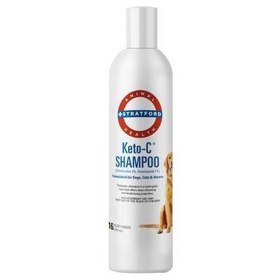 Keto-C for Dogs and Cats - Shampoo, 16oz