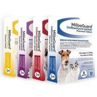 MilbeGuard Heartworm Flavored Tablets for Dogs and Cats