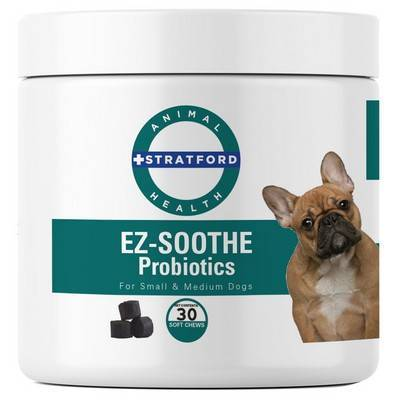 EZ-Soothe Probiotics - 30 Soft Chews for Small and Medium Dogs