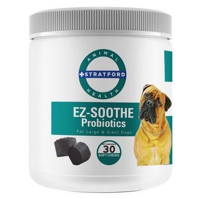 EZ-Soothe Probiotics - 30 Soft Chews for Large and Giant Dogs