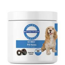 EZ-MED Pill Holes for Dogs - Small Size, 30ct