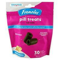 Frenzies Pill Treats for Dogs Fits Most Capsules and Tablets