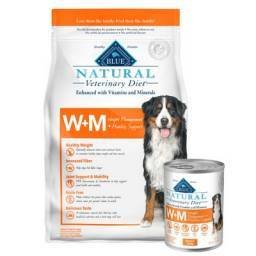 W+M for Dogs Natural Blue Buffalo Weight Management + Mobility Support