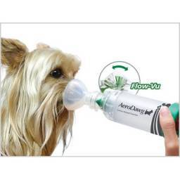 aerodawg spacer for bronchitis in dogs