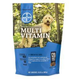 DVM Daily Soft Chews for Dogs Multi Vitamin