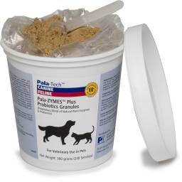 Pala-ZYMES - Plus Probiotics Granules for Dogs and Cats, 300g (240 Servings)