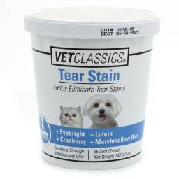 Tear Stain for Dogs and Cats - 65 Soft Chews