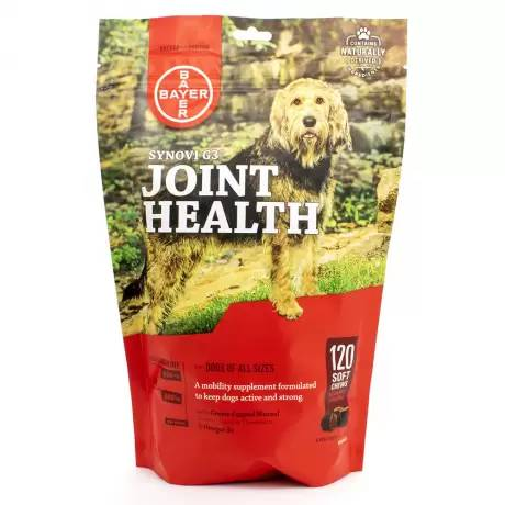 Synovi G3 Joint Health for Dogs - 120 Soft Chews