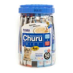 Churu Veterinarian Formula for Cats - 50 Diet Tubes Appetite Motivator