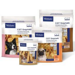 C.E.T. Enzymatic Oral Hygiene Chews for Dogs