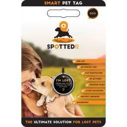Spotted Pro Smart Pet Tag for Dogs and Cats Label