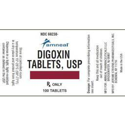 Digoxin Heart Tablets for Dogs and Cats