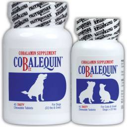 Cobalequin 45 Tasty B12 Chewable Tablets for Dogs and Cats